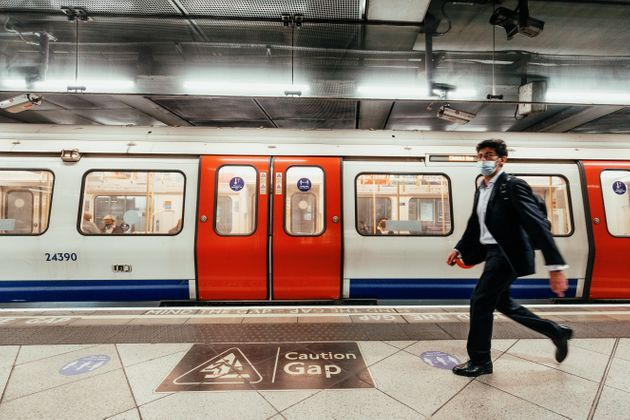 In London, an underground line closes because too many staff are