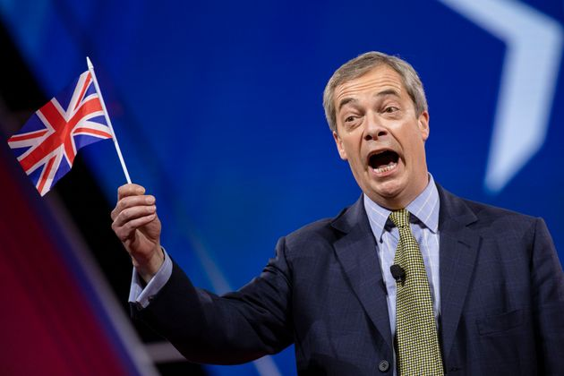 Nigel Farage pictured in
