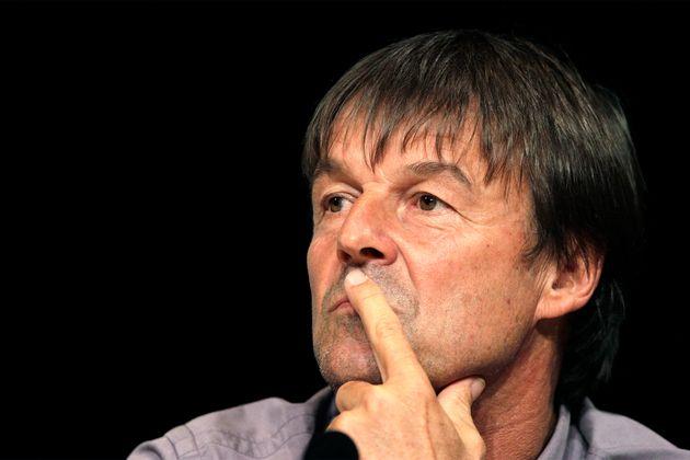 Nicolas Hulot lors d'un débat à Toulouse, le 6 juin