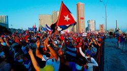 El régimen cubano saca músculo con una manifestación