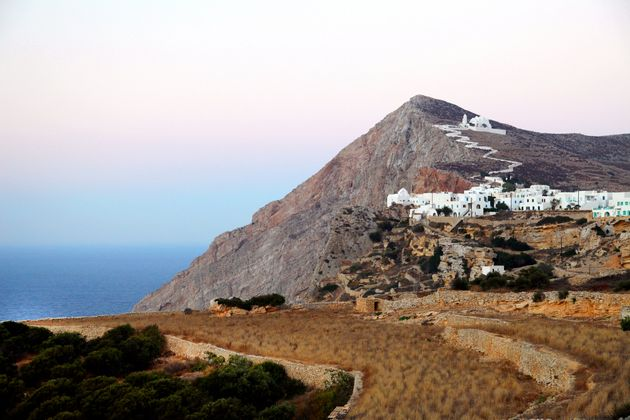 Folegandros, Greece, Greek