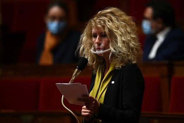 Martine Wonner à l'Assemblée nationale le 20 octobre