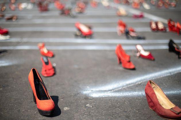 Κόκκινα παπούτσια που...