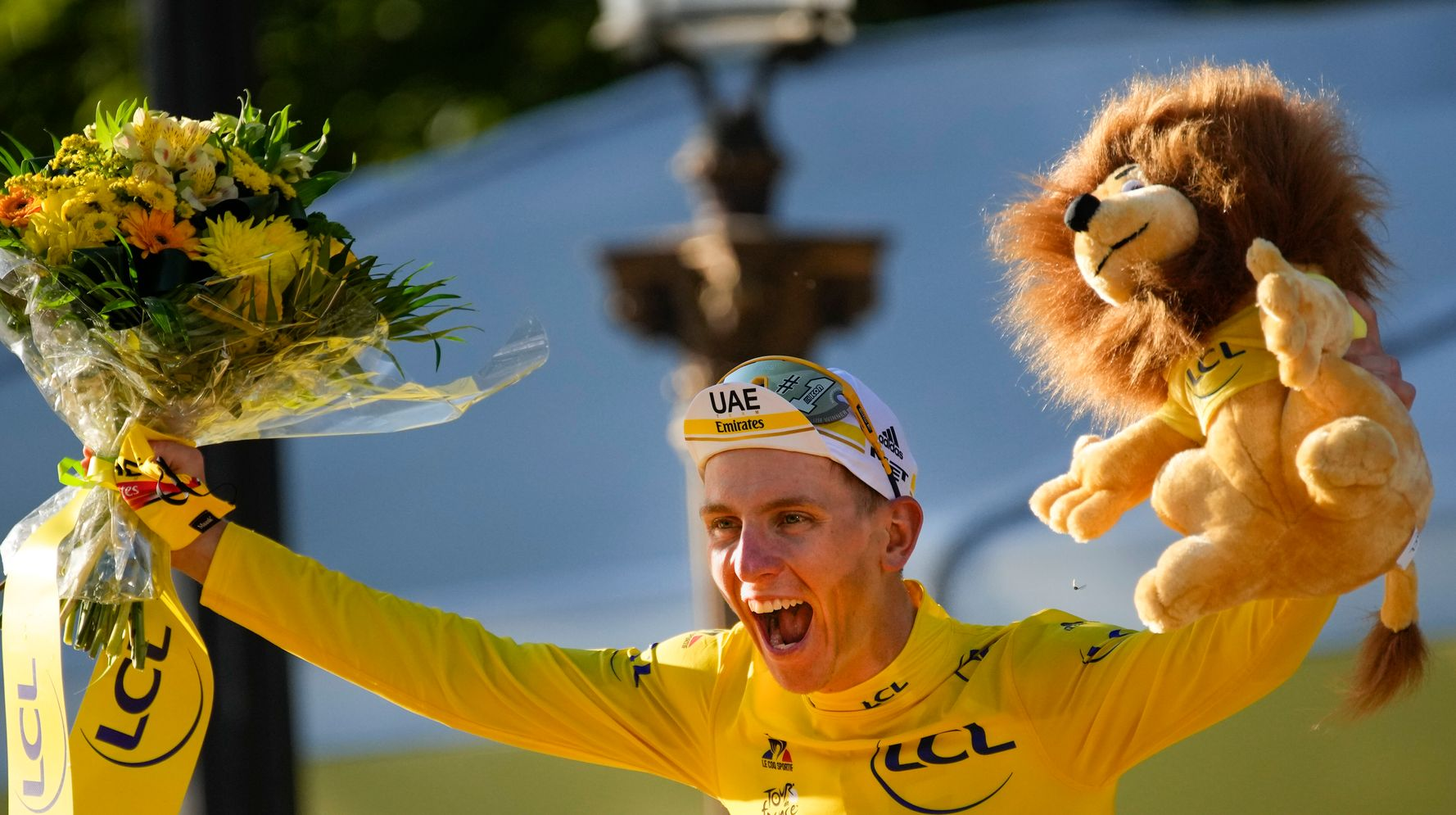 Cyclist Tadej Pogacar Wins 2nd Straight Tour De France Title