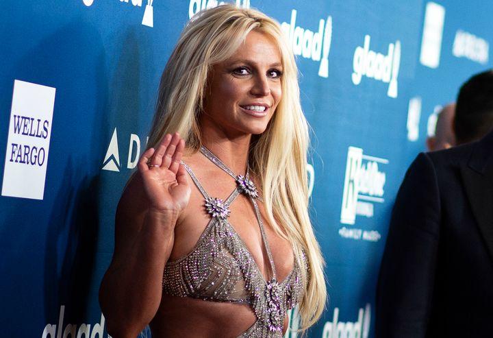 La cantante Britney Spears, en 2018, en Beverly Hills, California.
