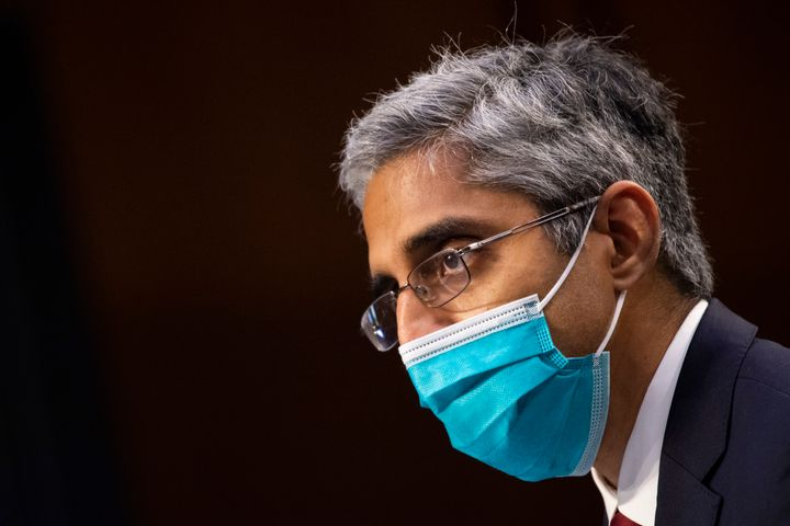 Surgeon General Vivek Murthy said he anticipates more counties around the nation will reinstitute COVID-19 prevention measure