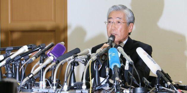 JOC竹田恒和前会長