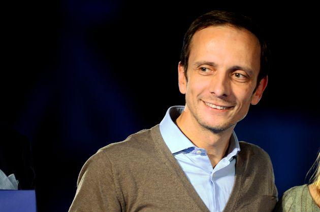 BOLOGNA, ITALY - NOVEMBER 14: Italian politician Massimiliano Fedriga GOvernor of Friuli Venezia Giulia...
