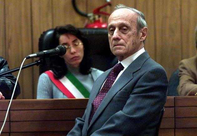 MILANO 20/3/2001 PROCESSO STRAGE P.ZZA FONTANA DEPONE IL GENERALE GIANADELIO MALETTI ANSA CARLO