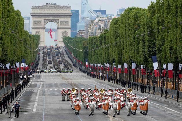 Des soldats de la Légion étrangère française