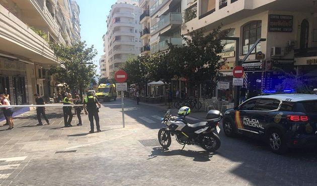 Calle de Marbella donde ha ocurrido el