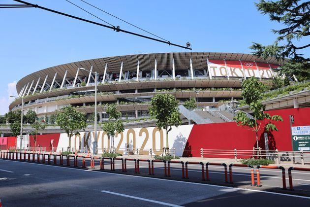 東京オリンピック・パラリンピックメイン会場の国立競技場