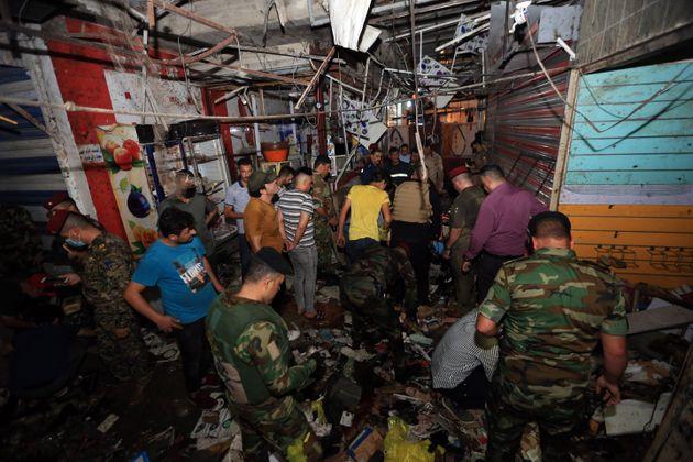 Ιράκ: Δεκάδες νεκροί από επίθεση αυτοκτονίας στη Βαγδάτη, το Ισλαμικό Κράτος ανέλαβε την