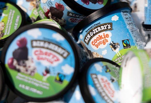 ベン&ジェリーズのアイスクリーム