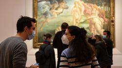 Su Pornhub il nudo delle opere d'arte dei musei, Uffizi e Louvre diffidano: