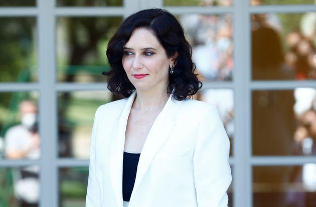 La presidenta Isabel Diaz