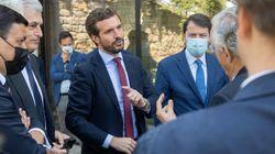 Casado celebra en Gredos su tercer cumpleaños al frente del PP con la
