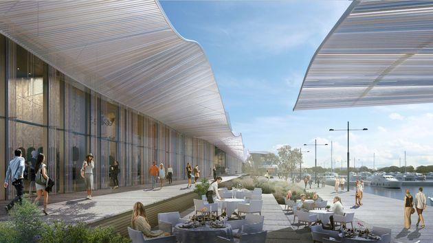 Η εντυπωσιακή Marina Galleria στο