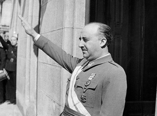 El dictador Francisco Franco, en una imagen de