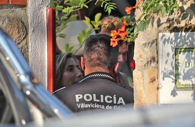 La Policía acude al domicilio de Paz Padilla en