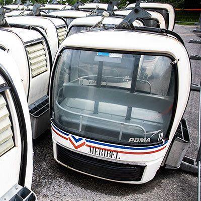 La télécabine avait fait partie intégrante du le projet de la candidature française pour accueillir les...
