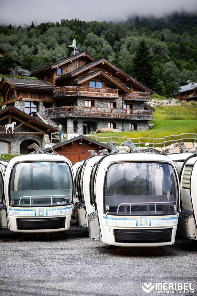 115 cabines de L'Olympe étaient mises en vente pour 500 euros