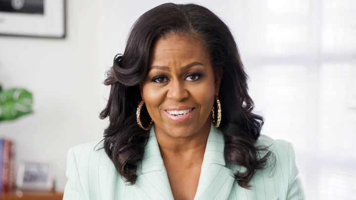 Michelle Obama, en marzo de 2021