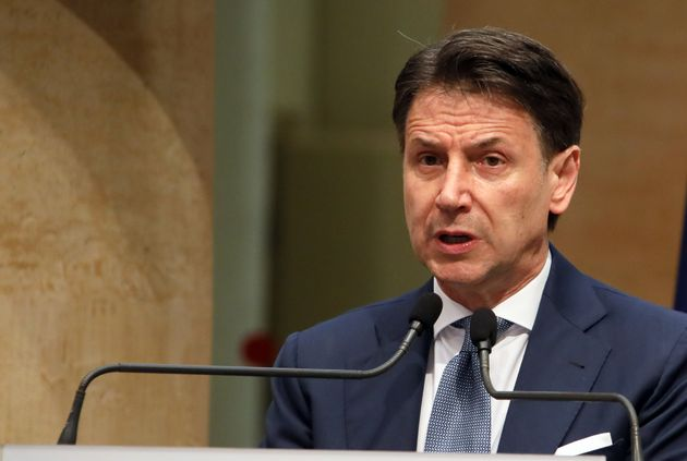 ROME, ITALY - JUNE 28,2021: Former Italian premier Giuseppe Conte during the press conference in Rome....
