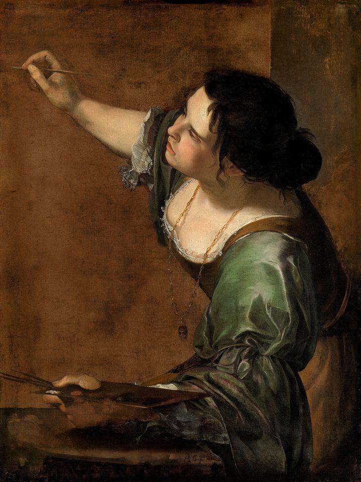 Artemisia Gentileschi, 'Autorretrato como Alegoría de la Pintura', 1638.