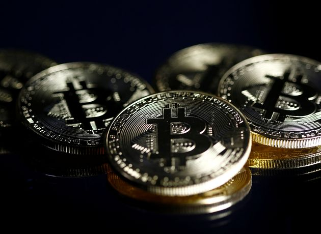 Bitcoins are seen in this illustration picture taken September 27, 2017. REUTERS/Dado