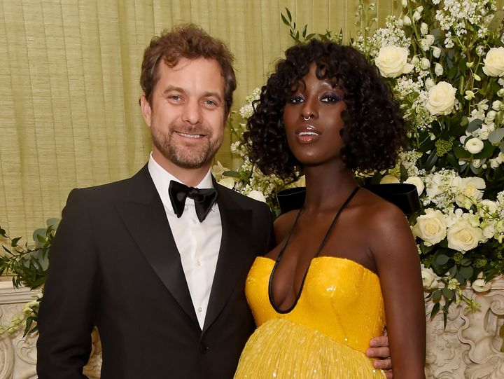 Joshua Jackson and Jodie Turner-Smith attend the British Vogue and Tiffany & Co. Fashion and Film Party on Feb. 2, 2020,
