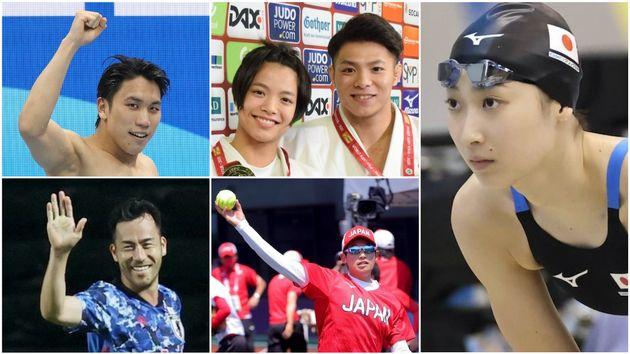 東京オリンピック日本代表の注目選手たち