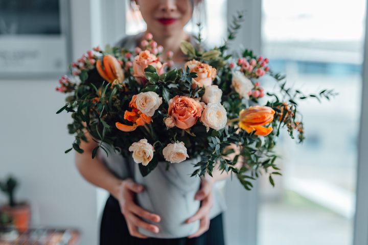 Some flower arrangements are so pretty you can't bear to let them go.