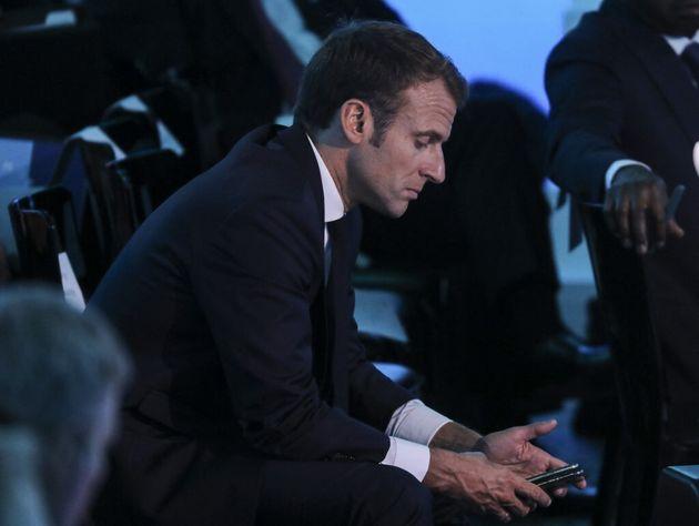 Emmanuel Macron le 26 septembre 2018 à New York (photo