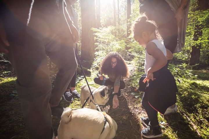 You can prevent ticks from latching by wearing proper clothing when you're outdoors and by inspecting your animals after being outside.