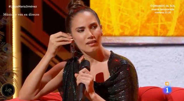 La cantante India Martínez, en 'Lazos de