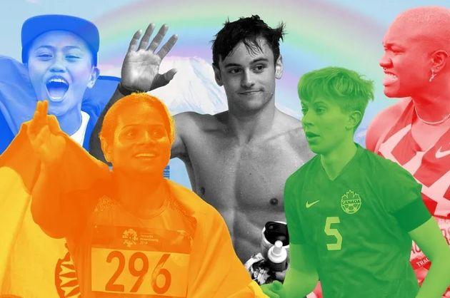 도쿄 올림픽에 최소 161명 이상으로 역대 최다 커밍아웃한 성소수자 선수들이 참여한다