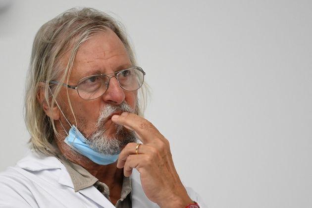 Didier Raoult, directeur de l'IHU de Marseille, ici en août