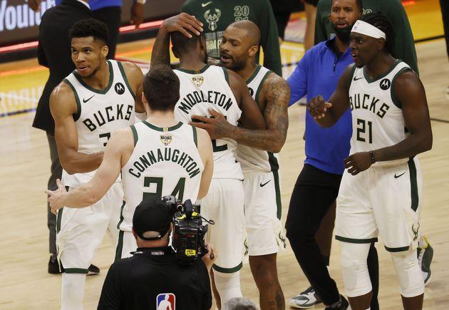 Bucks, ganadores de la