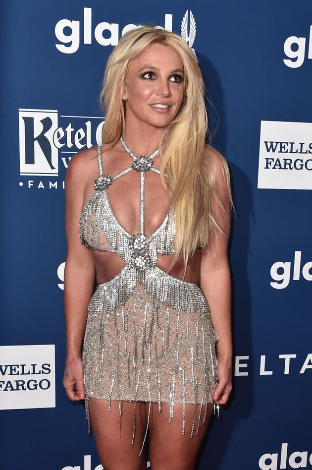 Britney Spears at the GLAAD Media Awards in