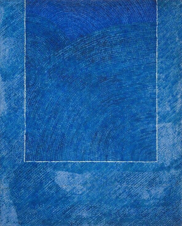 김환기 작 <산울림19-II-73#307>, 1973, 캔버스에 유채, 264x213cm. ⓒ (재)환기재단·환기미술관