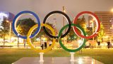 SAPPORO, JAPAN - JULY 20: Olympic rings at Odori Park ahead of the Tokyo 2020 Olympic Games on July 20, 2021 in Sapporo Hokkaido, Japan. (Photo by Masashi Hara/Getty Images)