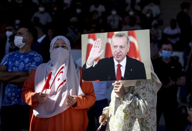 20 Ιουλίου 2021 Ο Ερντογάν...