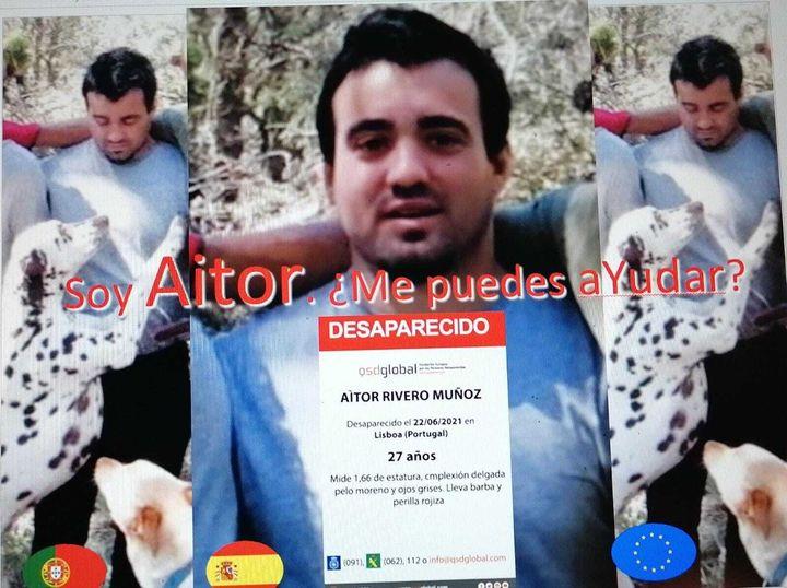 Fotografía de Aitor Rivero, el chico desaparecido el pasado 7 de junio.