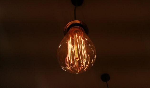 Luz, pero no