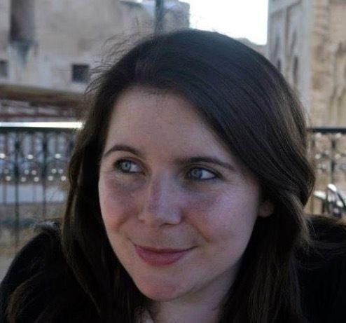 La editora y escritora Katie McCabe.