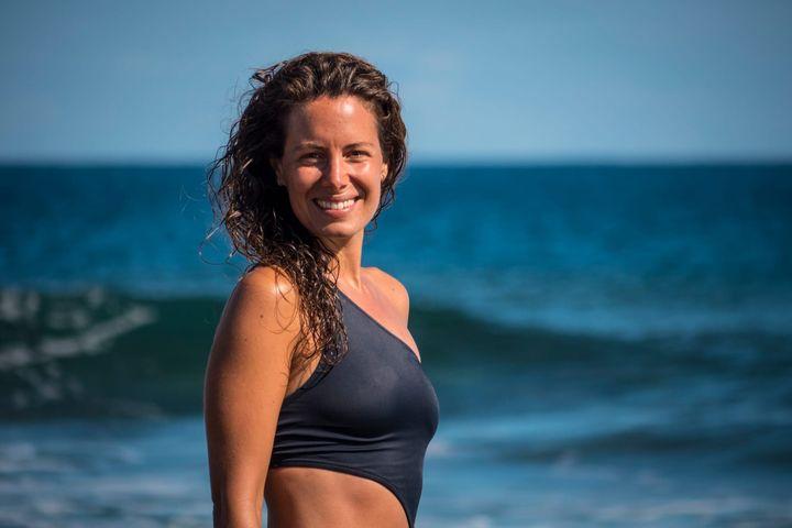Laura Madrueño, presentadora del tiempo de Mediaset.
