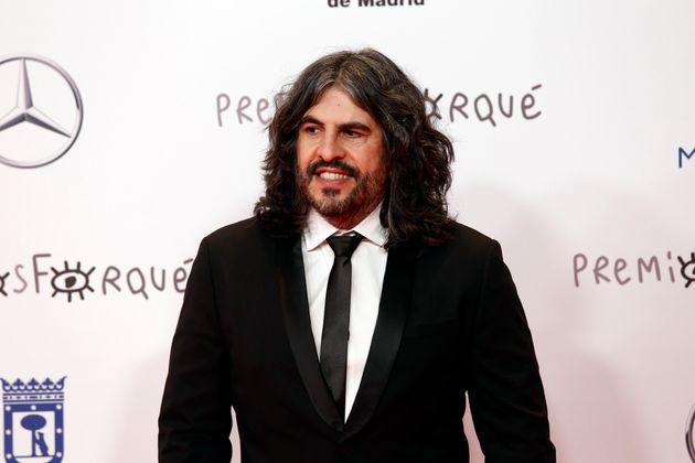 J.J Vaquero, en los Premios Forqué de
