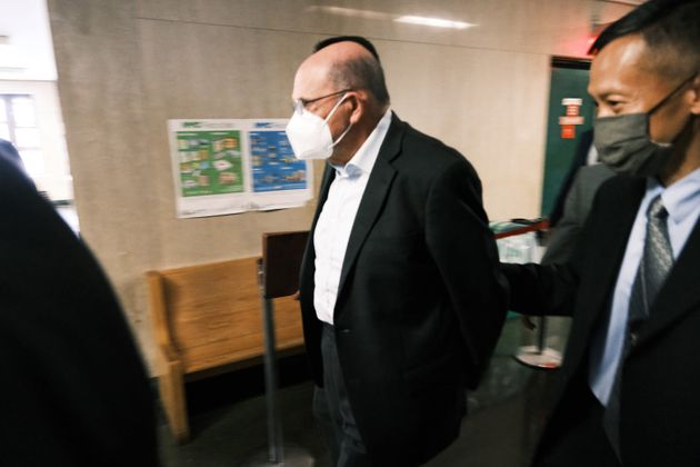 Trump Organization finance chief Allen Weisselberg appears in a New York court after turning himself...