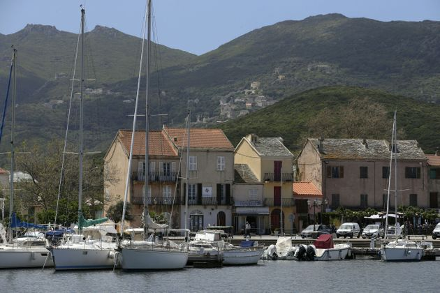 Une vue du port de Macinaggio à Rogliano, en Haute-Corse, le 26 mai 2021. (photo